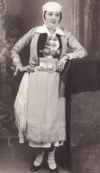 Τraditional costume from Pogoni. Epirus, Greece