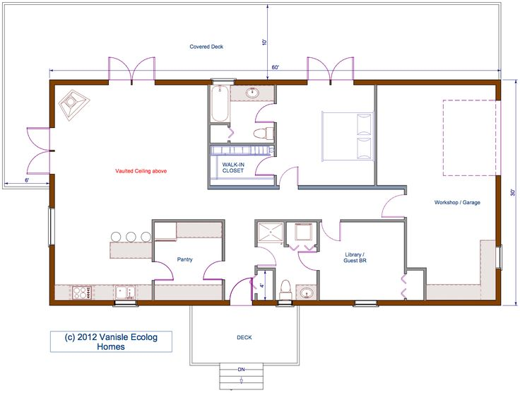 Small Log House Floor Plans Floor Plan 30 39 X60 39 Single