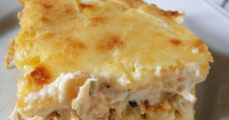 Brisando na Cozinha: Torta cremosa de frango, milho e requeijão