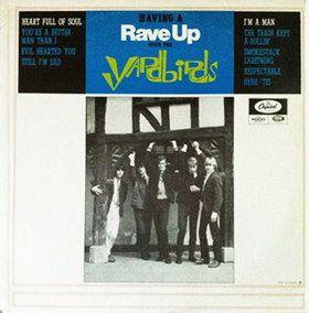 The Yardbirds - Having A Rave Up With The Yardbirds (Vinyl, LP, Album) at Discogs  1966