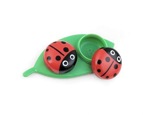 Kikkerland Contact Lens Case, Ladybug | ProHealthCure
