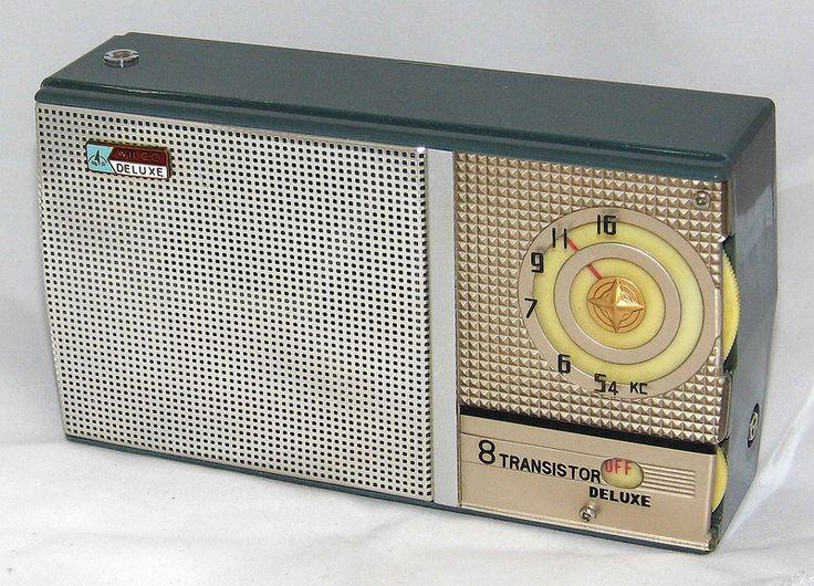 Vintage Wilco 8 Transistor Radio Model St 88 Made In
