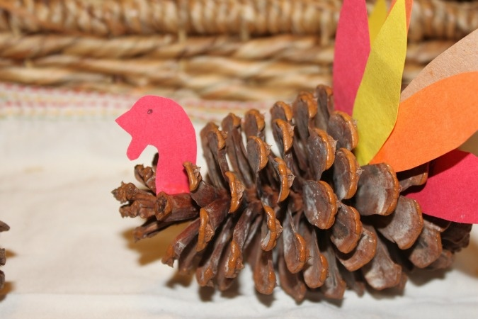 Pine Cone Turkeys - so doing this with my preschool kiddos this year. I remember doing this when I was little :)
