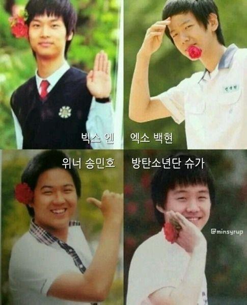 Boys Over Flowers Im Ye Jin: The Real F4--> VIXX N, EXO Baekhyun, WINNER Min Ho, BTS