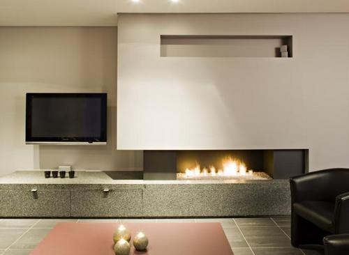 современные камины для квартиры | Фото интерьеров