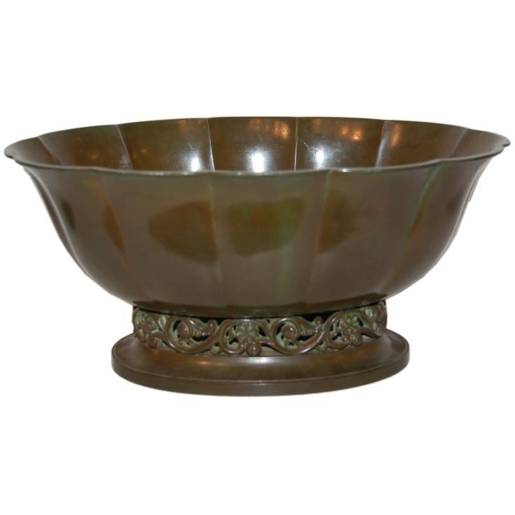 Just Andersen bowl, c1940s