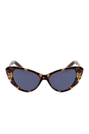 Cat's Eye Tortoise Sunglasses