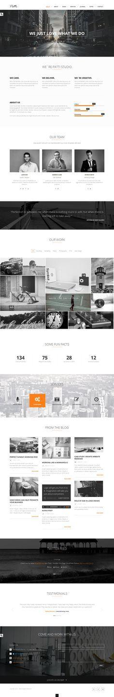 15+ TOP Creative Premium WordPress Themes of 2014 #web #design