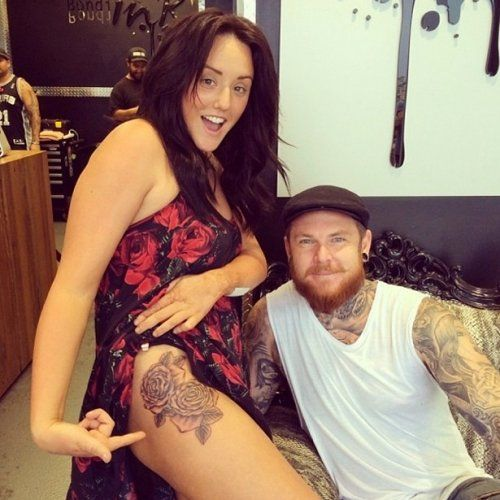 charlotte crosby tattoo - Google Search