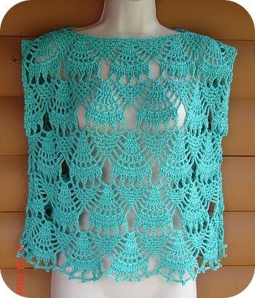 free easy crochet patterns summer tops | ... penny she s a big fan of the sinfonia patterns from tunic bolero vest