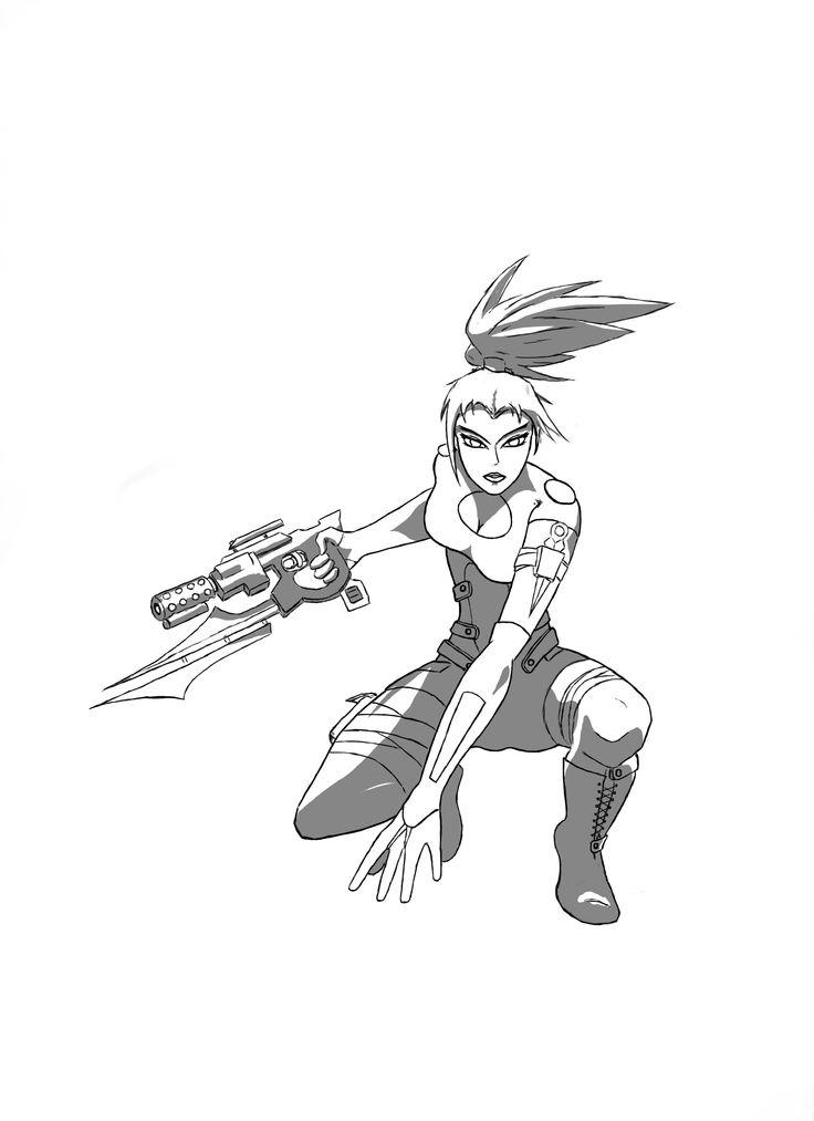 Battle ready Terri <3  - Creator-owned character