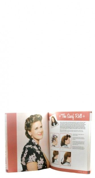 Vintage Hair Styling Book Styles Different Cuts