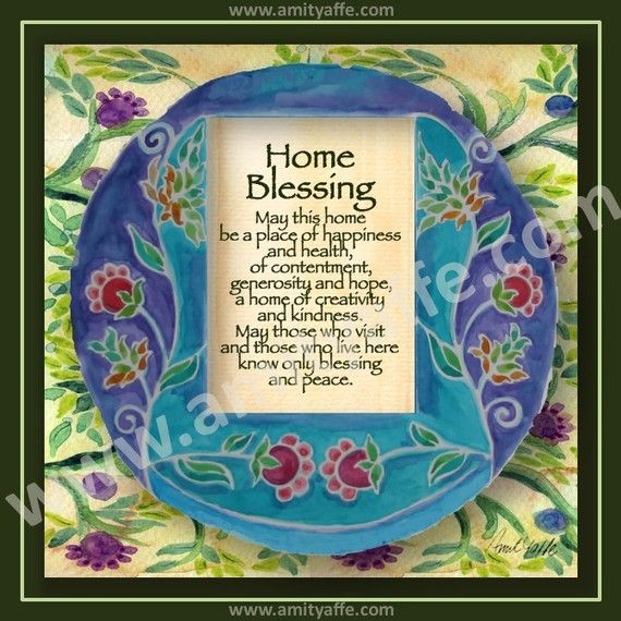 Custom House Blessing Personalized Home Blessing