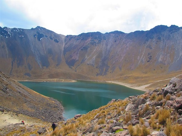 Laguna del sol (Nevado de TOLUCA)