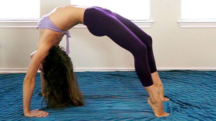 Flexibility Challenge - Back Bend Stretches & Tutorial For Gymnastics & ...