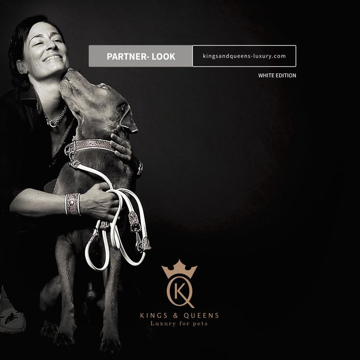 Kings Queens Luxury 'WHITE-EDITION', Partnerlook-Produkte. https://www.kingsandqueens-luxury.com/partner-look/ #Python #Hundehalsband #Hundeleine #Armband #KingsAndQueens #PartnerLook #luxuryforpets