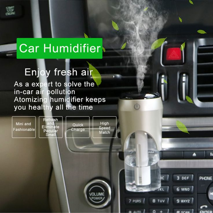 Mini Fashionable Car Air Humidifier Diffuser Sales Online pink - Tomtop.com