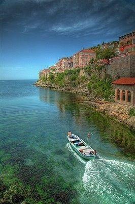 Amasra, TurkeyTurkey Turkey, Amasra Turkiye, Ocean Beach, Beautiful, Honeymoon Destinations, Amazing Places, Travel, Amasra Turkey, Country