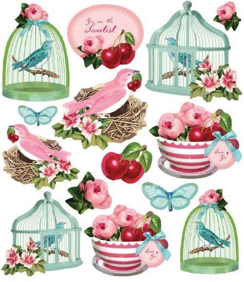 Stickers Tilda Fruit Garden