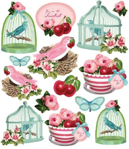 Stickers Tilda Fruit Garden