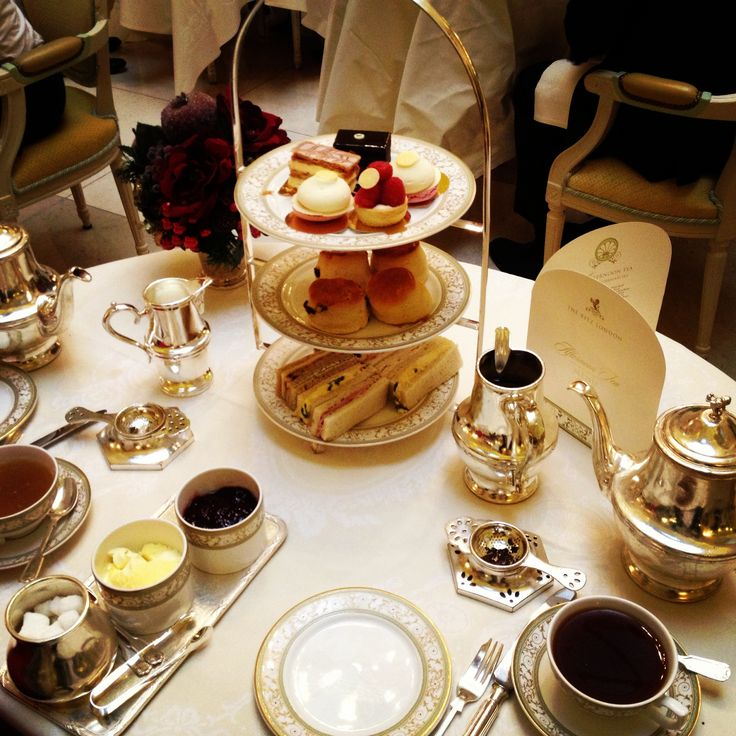Afternoon tea at Ritz London