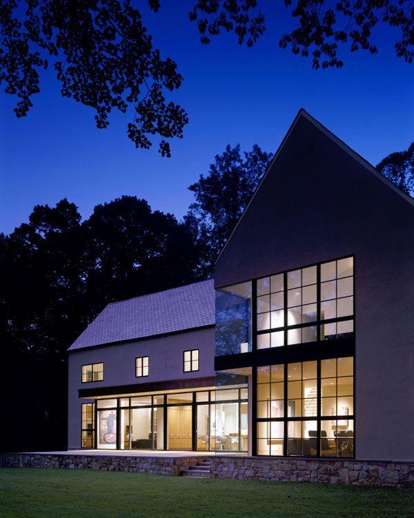 The Modern Farmhouse: Burning Tree Residence In Bethesda, Maryland By David
