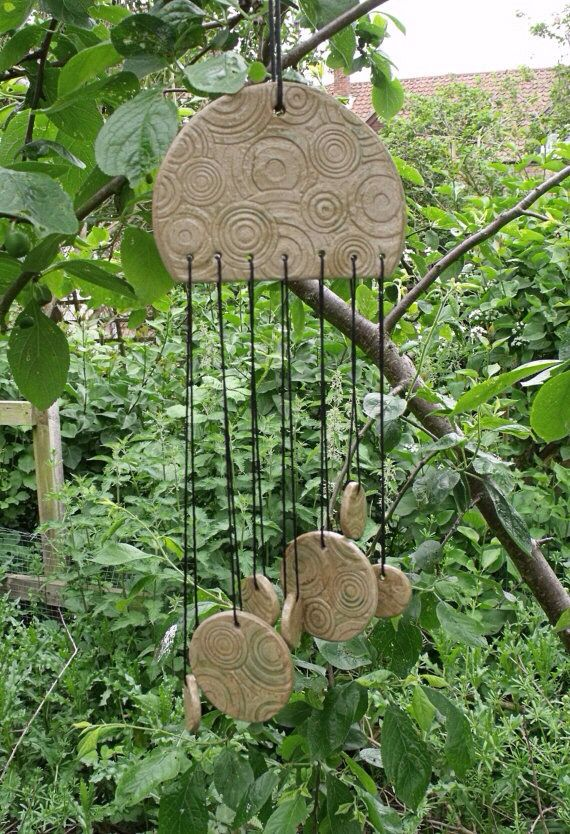 Pin von Smrity Choudhary auf Claywork  Windspiele