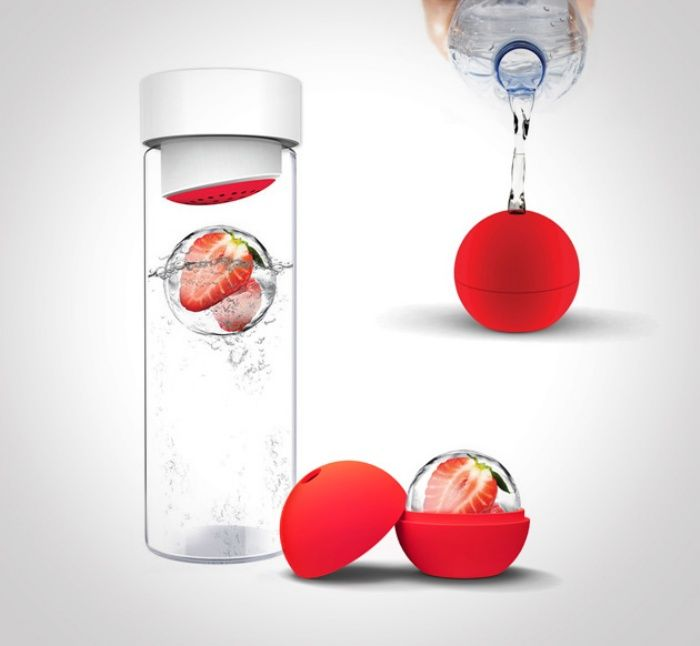 Ice Ball Flavor-It Adds a Little Something to Your Water