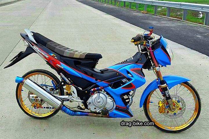 Gambar Modifikasi Satria Fu Thailand Modifikasi Satria Fu Thailook Style Gambar Sepeda Kendaraan