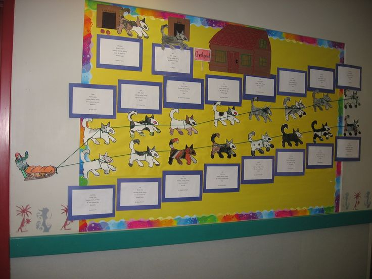 Math And Science Classroom Decorations ~ Cute iditarod bulletin board teach science s studies
