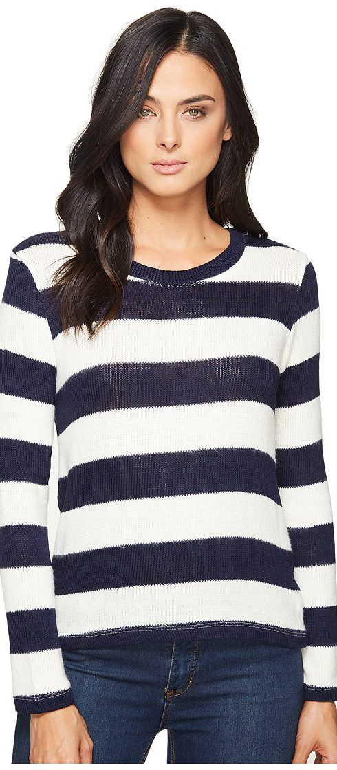 Splendid Rugby Top (Navy/Natural) Women's Sweater - Splendid, Rugby Top, ST11266-993, Apparel Top Sweater, Sweater, Top, Apparel, Clothes Clothing, Gift, - Fashion Ideas To Inspire