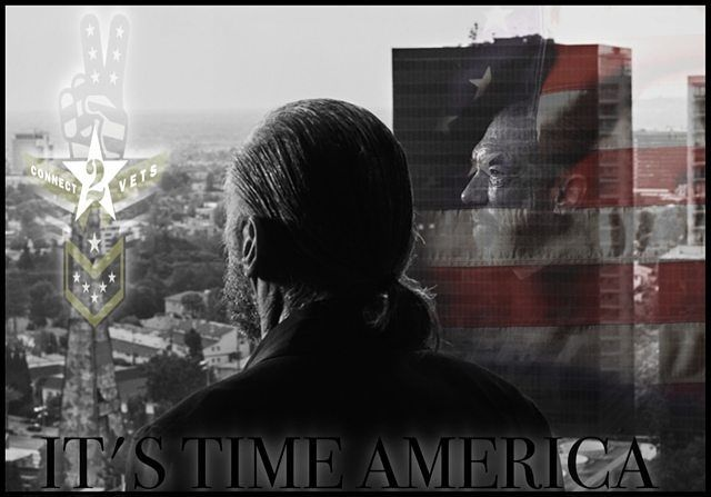 """Its Time America-   Connect2Vets- is the largest, sustainable Veterans-Helping-Veterans program in history, and is now open to all Americans to participate.  Because we believe connection is the cure, the goal of Connect2Vets is to provide every homeless or impoverished U.S. Veteran with free phone service plus a bundle of benefits called """"MOAB"""". Every two people who switch to a ROK Planet plan provide one homeless vet with the MOAB service plan.  www.connect2Vets.com"""