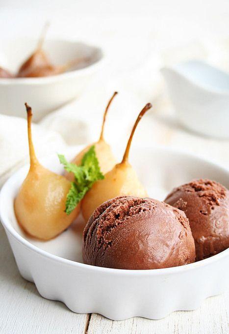 Helado de chocolate. Como hacer un helado cremoso en casa