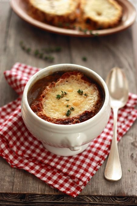 Francuska zupa cebulowa