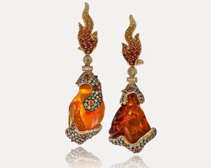 Pure fire. 🔥   Find Alberto Prandoni by Italian Design Jewelry at Grenon's> http://www.grenons.com/?utm_content=buffera5ade&utm_medium=social&utm_source=pinterest.com&utm_campaign=buffer