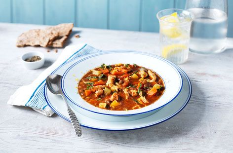 Tesco Online MoroccanChickenAndLentilSoup 3562 (T)