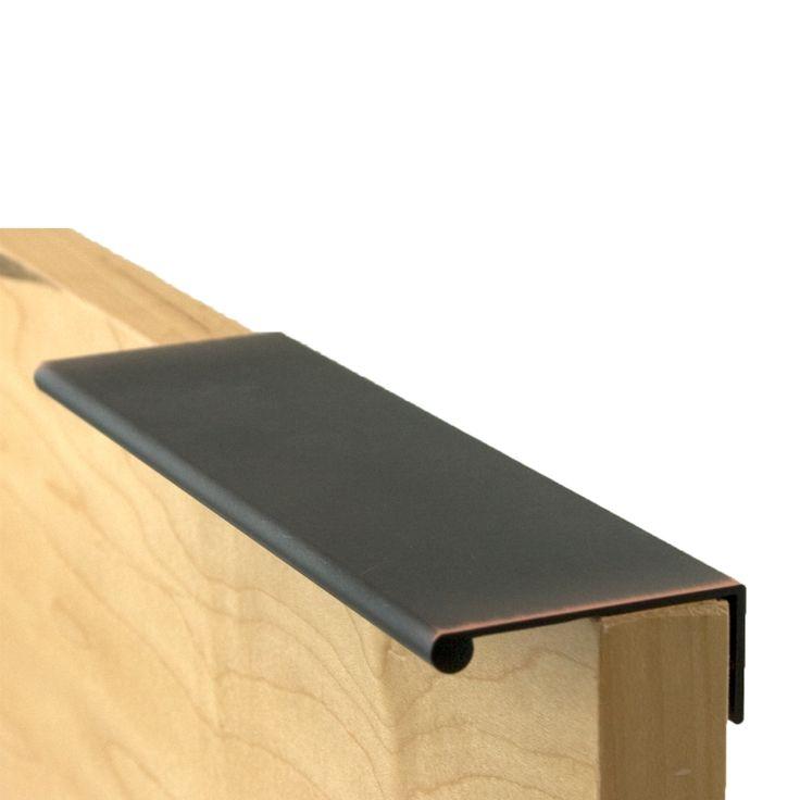 Berenson Verona Bronze Pulls Bravo Finger Cabinet Pull With 6 Length