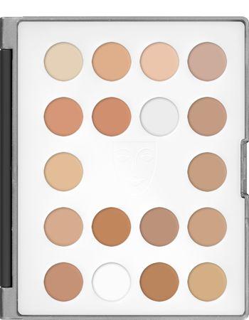 Ultra Foundation Mini Palette 18 Colors - COLOR: #2 | $35.60 | Kryolan - Professional Make-up