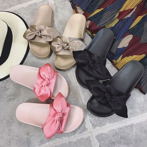 Slippers and sliders women's flat footwear | Womens shoes