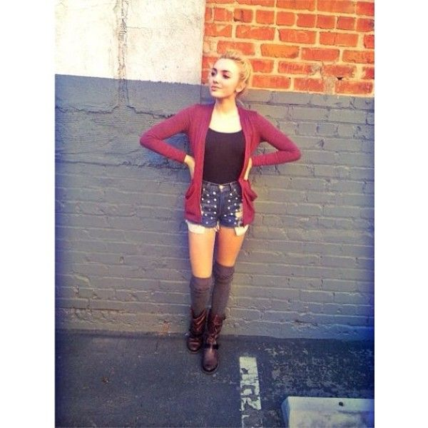 peyton list Peyton List ❤ liked on Polyvore featuring darcy