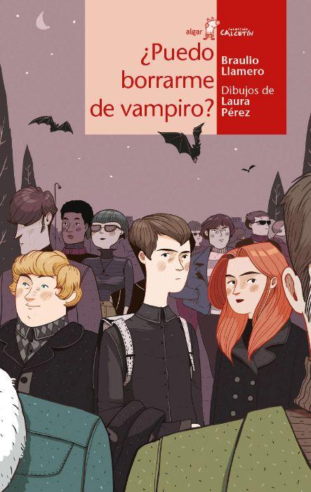 El joven Glóbulo Rojo es un vampiro dispuesto a dejar de serlo en '¿Puedo borrarme de vampiro?' (Algar), de Braulio Llamero con ilustraciones de Laura Pérez.