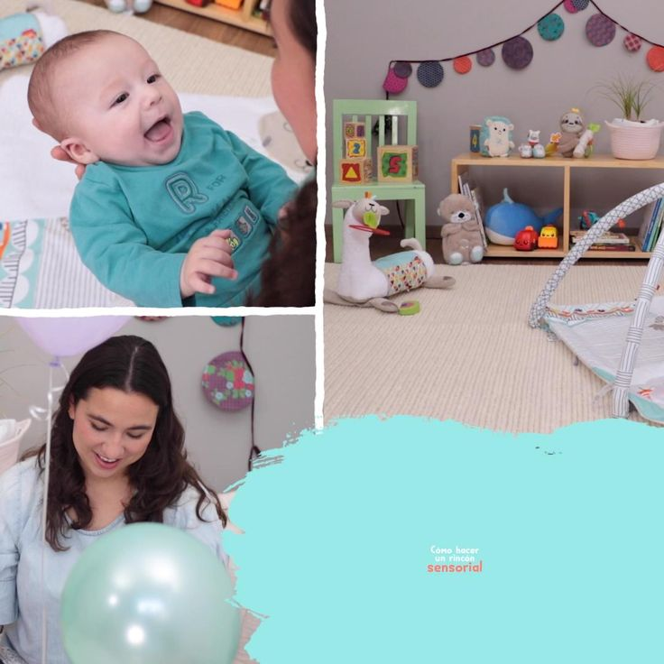 Cómo hacer una ESQUINA SENSORIAL para bebés +3M Baby Yoga, Baby Gym, Infant Activities, Family Activities, Baby Sensory Play, Beauty Life Hacks Videos, Raising Kids, New Baby Products, Parenting