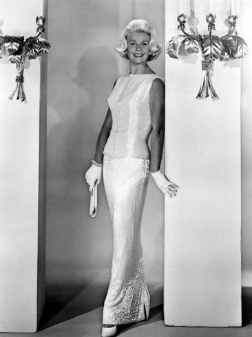 Midnight Lace Doris Day 1960 Evening Gown Designed By