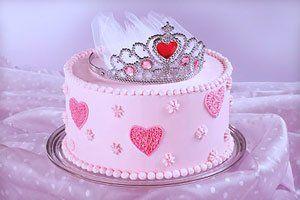 Geburtstagsessen für süße Prinzessinnen – Rezepte von Kuchen und Torten (Cake Girl)