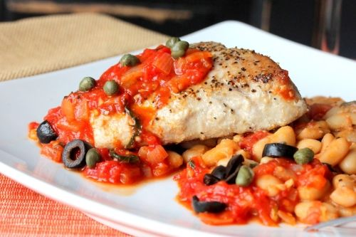 This rustic Tuna with Tuscan Beans recipe will bring you back to the old country.