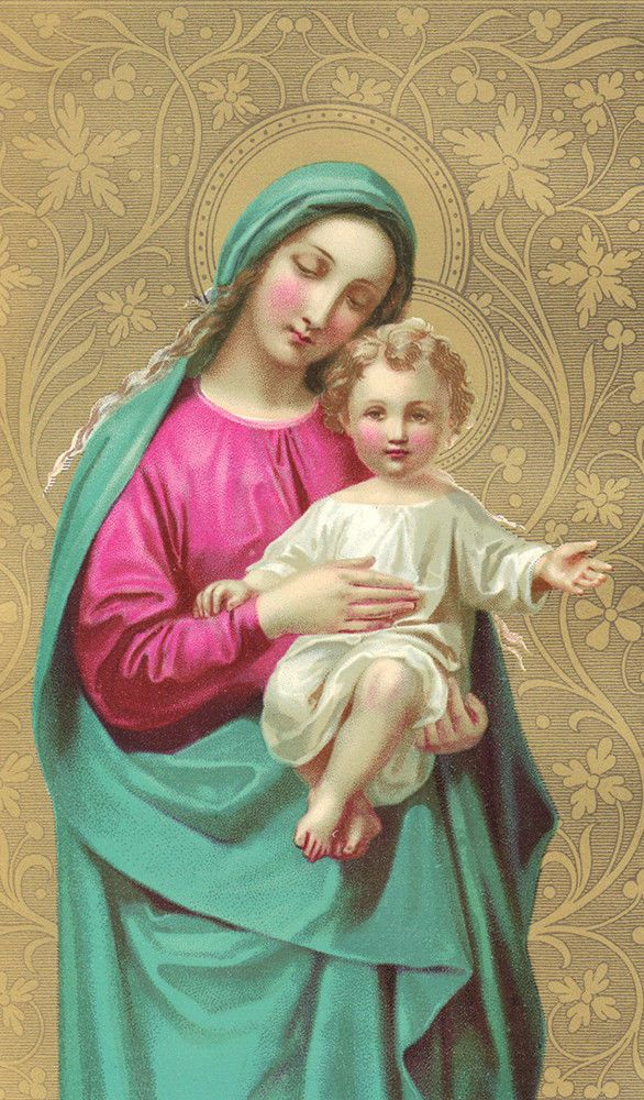 Blessed Mother Mary And Jesus Best 25+ Mother...