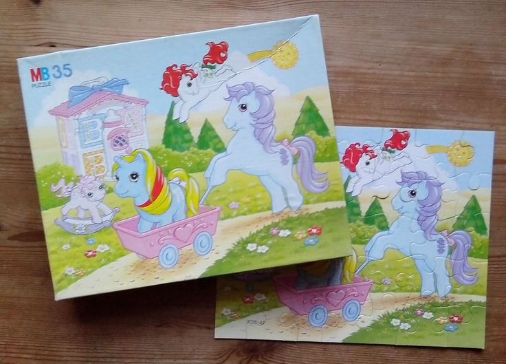 My Little Pony  MB35 Puzzle    VIntage 1980's