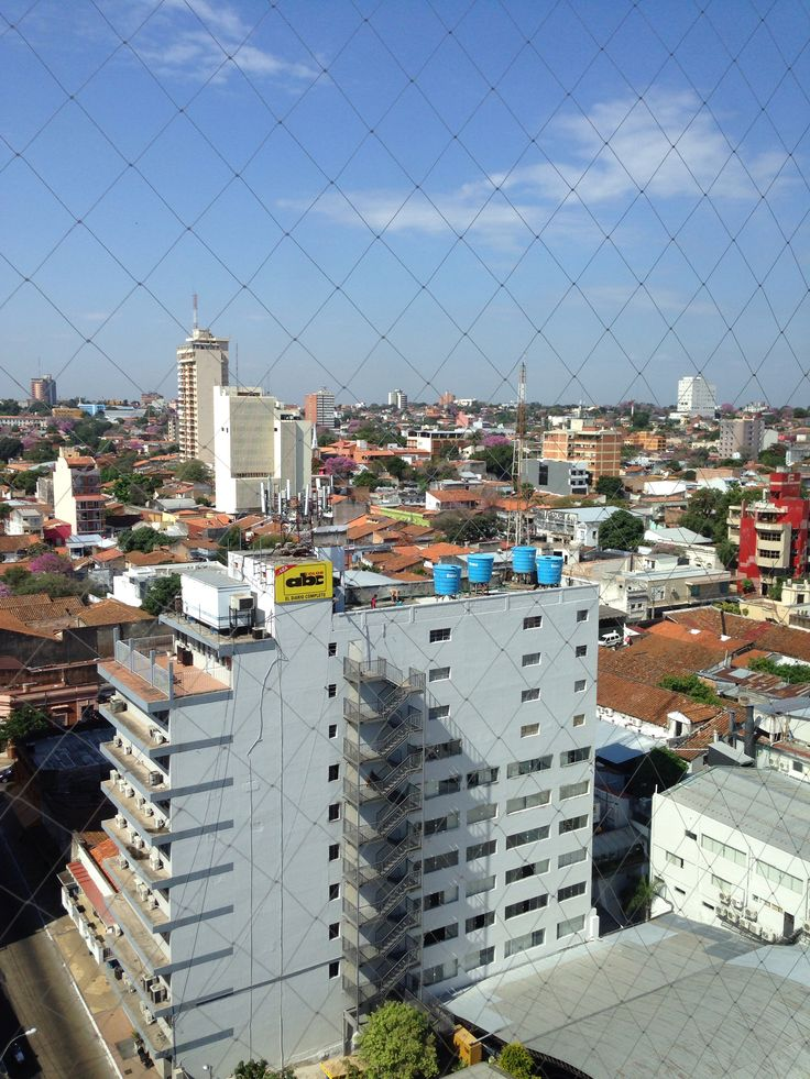 Vista panoramica Asuncion, Paraguay