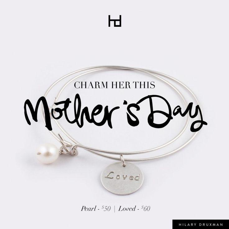 Mother's Day inspired bracelets... Make her feel loved