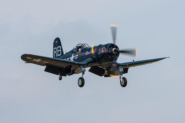 F4U-4 Corsair #plane #WW2